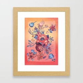 Flor de la Mar Framed Art Print