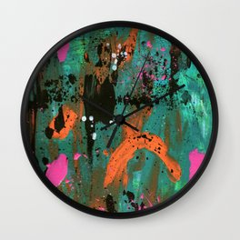 Hot Summer Nights Wall Clock