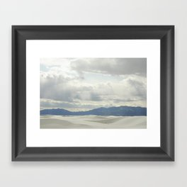 White Sands, NM Framed Art Print