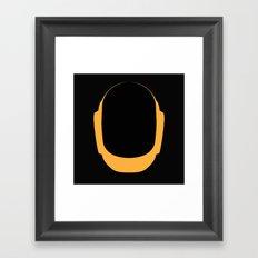 Daft Punk Guy Manuel Helmet Framed Art Print