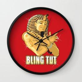 Bling Tut Wall Clock
