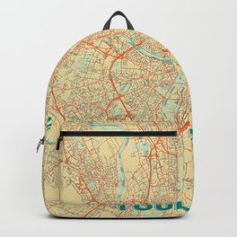 Toulouse Map Retro Backpack