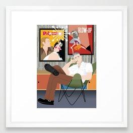 Movie Buff for Handsome Devil Press Framed Art Print