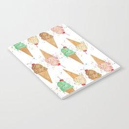 I Scream Pattern Notebook