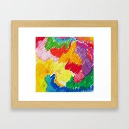 Sunny Abstract 1 Framed Art Print