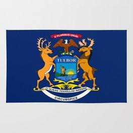 Flag of Michigan Rug