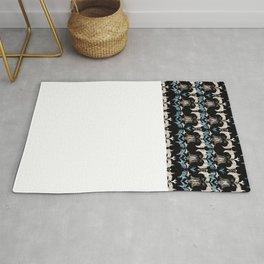 Schiaparelli Inspired Tribal Print Rug