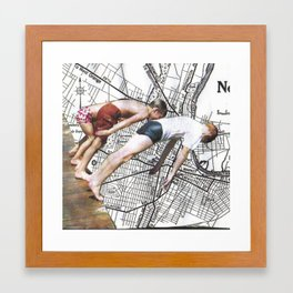 newark Framed Art Print