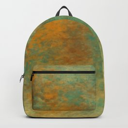 Copper and Turquoise Backpack