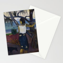 Under the Pandanus II Stationery Cards