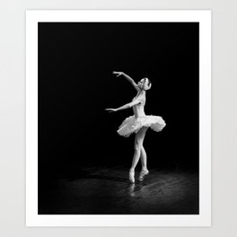 Russian Ballet Dancer 1 Art Print