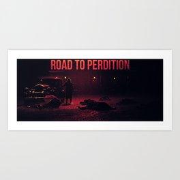 Road to Perdition Art Print