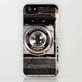 My dad's Vintage Kodak Camera iPhone Case