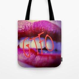 GTFO Lips Tote Bag