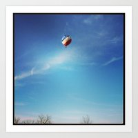 ballon Art Prints featuring Ballon by Yellow Barn Studio