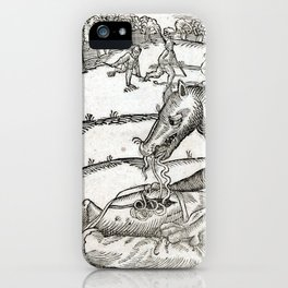 Beast of Cinglais 1632 iPhone Case