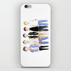 One Direction Watercolor iPhone & iPod Skin