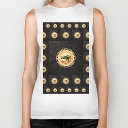 The Eye of Horus Biker Tank
