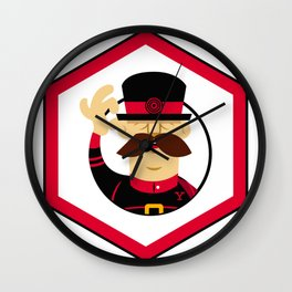 YeoMan Developer sticker Wall Clock
