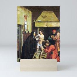 Josse Lieferinxe Saint Sebastian Cured by Irene Mini Art Print