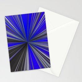 Lightspeed Grey Blue White Stationery Cards