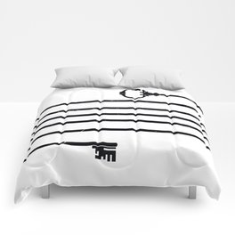 (Very) Long Key Comforters