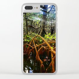 Rhizophora mangle Clear iPhone Case