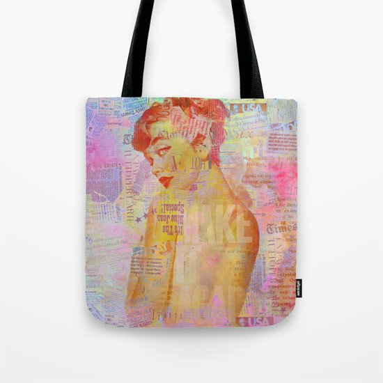 Candy girl Tote Bag