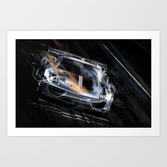 Dream Car #5 Art Print