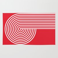 vertigo Area & Throw Rugs featuring VERTIGO by Gradosei