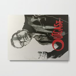 Outcast Rev. Anderson Metal Print