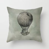marianna Throw Pillows featuring Dark Voyage by Eric Fan