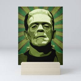 Frankenstein - Pop Art Mini Art Print