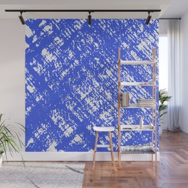 Electric Blue Wall Mural