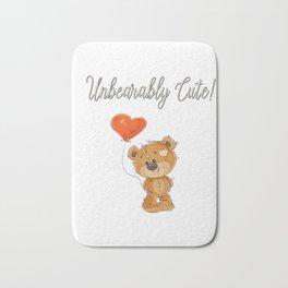 Unbearably Cute Bear Gifts Bath Mat