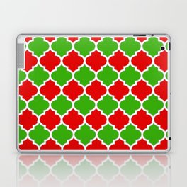 Christmas Domes - Red and Green Domes perfect for Christmas Home Decor Laptop & iPad Skin