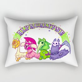 Alpacalypse Rectangular Pillow