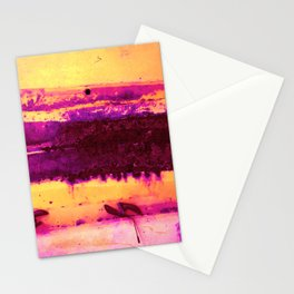 Rusted Middle Sunset Hues Stationery Cards