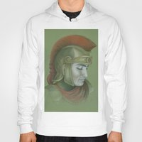 soldier Hoodies featuring Soldier by Jane Stradwick