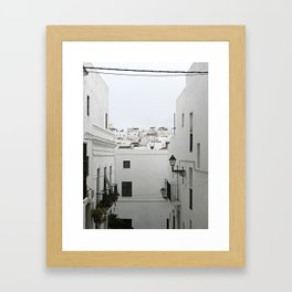 White City Framed Art Print