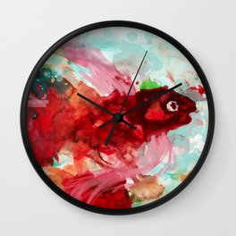 Theophilus the Fish. Wall Clock