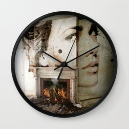 Beauty Spot Wall Clock
