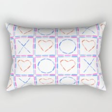 Hearts XOX Rectangular Pillow