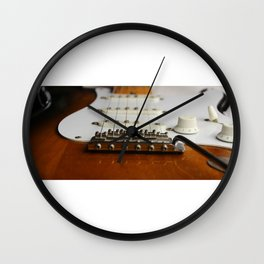 Electric Guitar close up  Wall Clock