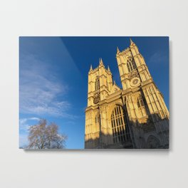 Westminster Abbey Reaching to the Heavens Metal Print