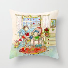 CREATIVE CHRISTMAS 2014 Throw Pillow