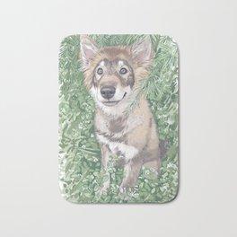 Friendly Wolf Bath Mat