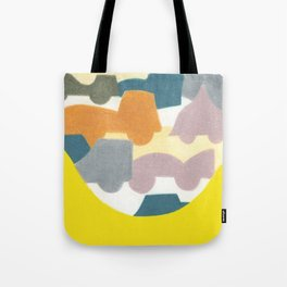 The Busy Street Tote Bag
