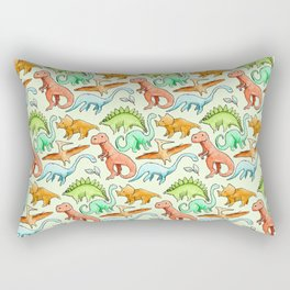 Dinosaur Skin Rectangular Pillow