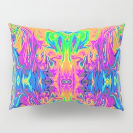 Psychedelic Spill 6 (Mirror Lab version) Pillow Sham